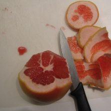 nem måde at skære en grapefrugt på