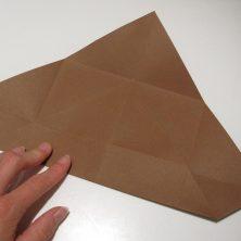 fold en kvadratisk æske - trin 7