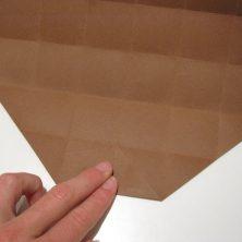 fold en kvadratisk æske - trin 10
