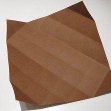 fold en kvadratisk æske - trin 11
