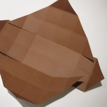 fold en kvadratisk æske - trin 13