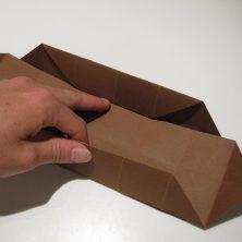 fold en kvadratisk æske - trin 17