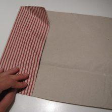 Foldet papir pose - trin 3