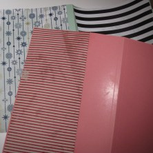 pålimning af papir på haveæsker med hjemmelavet tapetklister