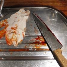 Halloween - Blodig kniv