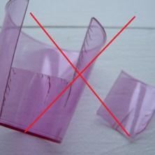 Shotsglas - plastik nummer 6 kan ikke bruges som krympeplast?