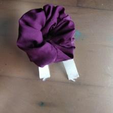 Scrunchies med åbent elastikbånd