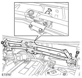 Электродвигатель очистителя лобового стекла Freelander 2