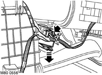 Блок резисторов электродвигателя вентилятора (праворульная