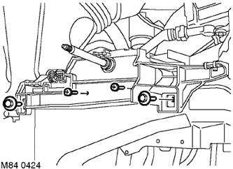 Электродвигатель и рычажный механизм стеклоочистителя