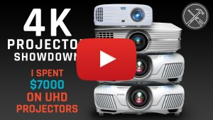 4K Projector Showdown - I spent 7000 dollars on UHD Projectors