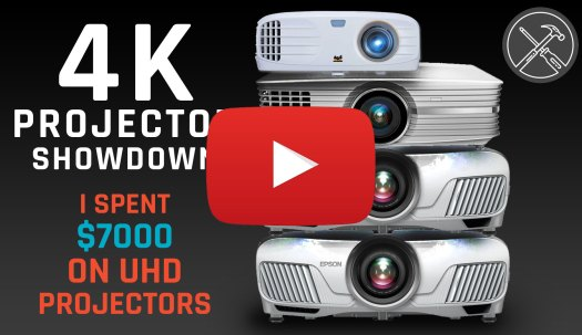 4K Projector Showdown - I spent 7000 dollars on UHD Projectors