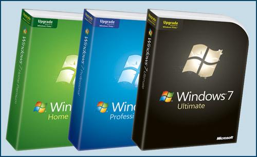 Windows 7 Retail Upgrade Boxed Retail