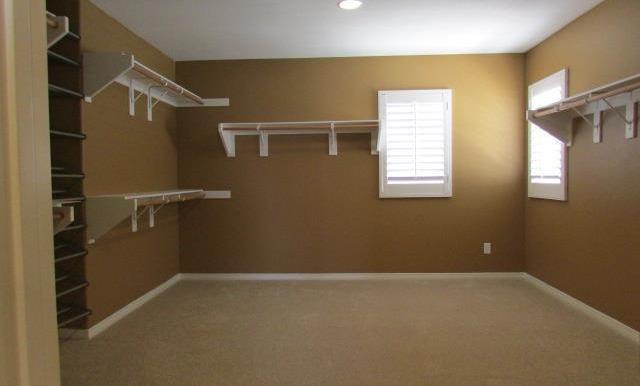 Look at this Master Closet!  Imagine the possibilities....