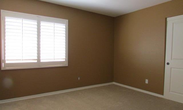 5th Bedroom with standard closet.