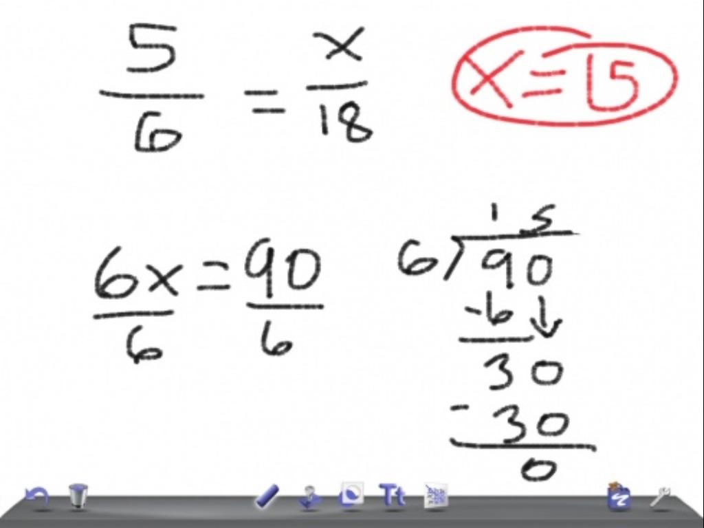 Similar Triangle: Indirect Measurement & Map