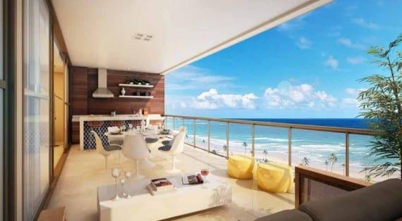DAzur apartamentos de luxo 4 quartos  venda em Salvador