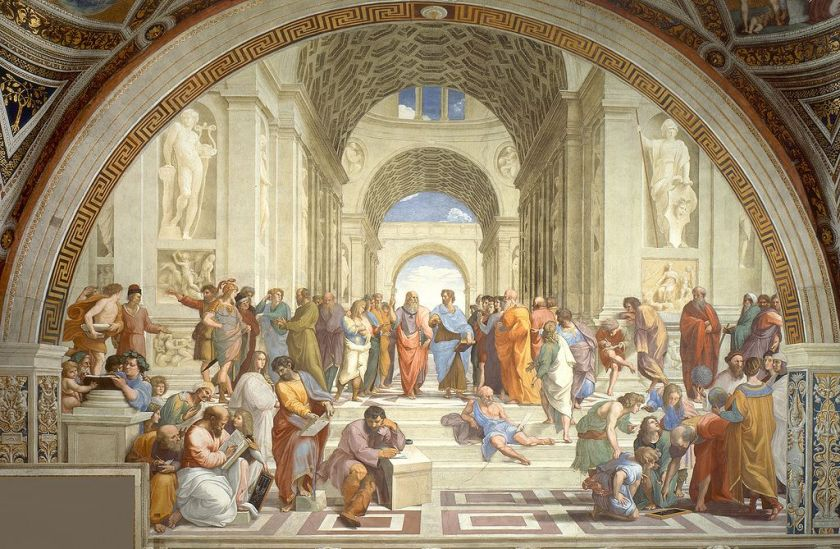 "Raphael's ""School of Athens"" 1511"