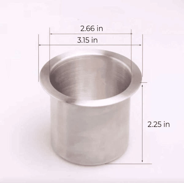 cupholder dimensions
