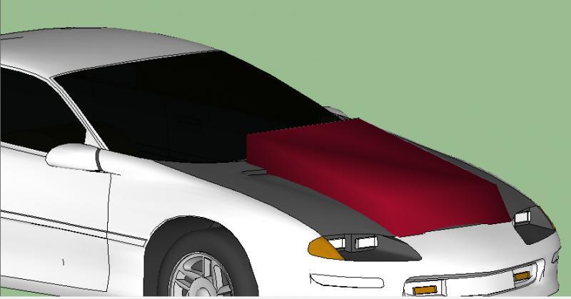 Hood 97 Camaro Sunoco 93