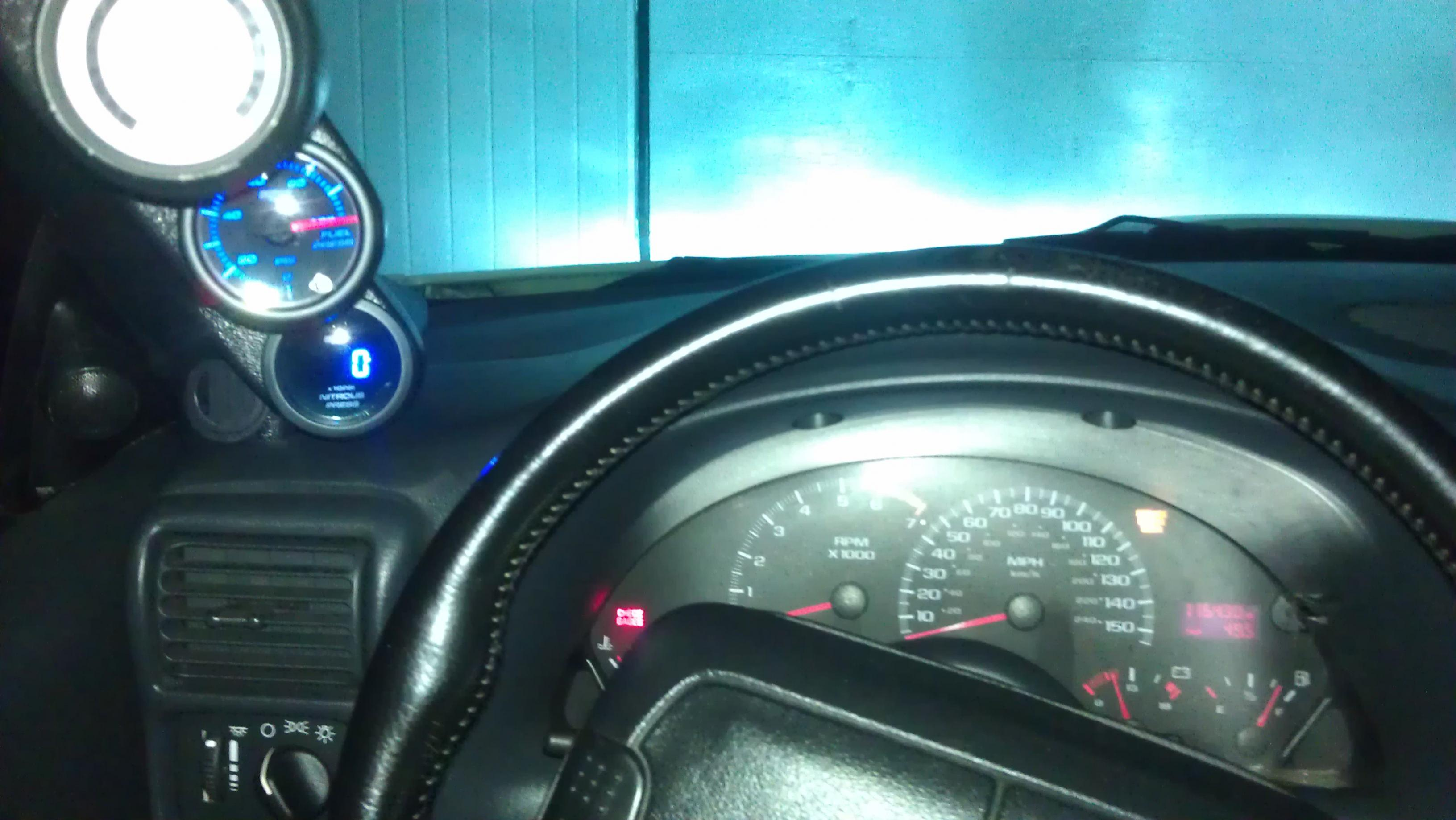 nitrous water temp gauge wiring diagram msd blaster coil glowshift fuel and pressure i like it