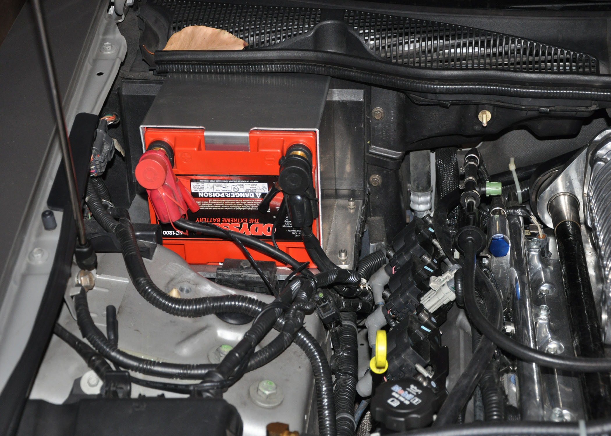 Cadillac Sts Fuse Box Battery Change To An Optima Redtop Weight Added 5 Pounds