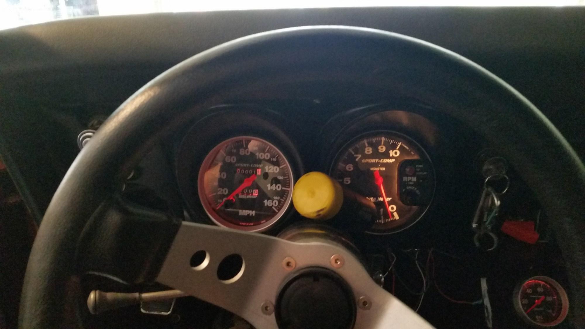 hight resolution of 5 inch autometer gauges in 68 camaro dash new speedo jpg