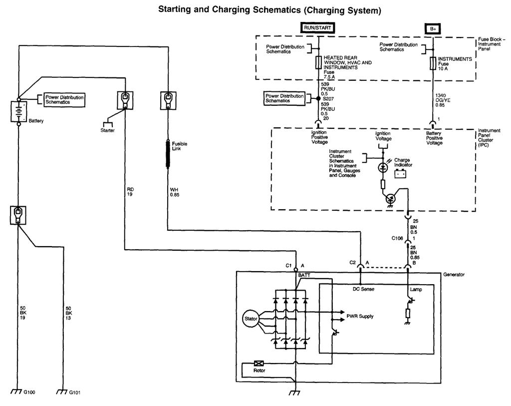 How To Wire Gm Alternator Diagram Images