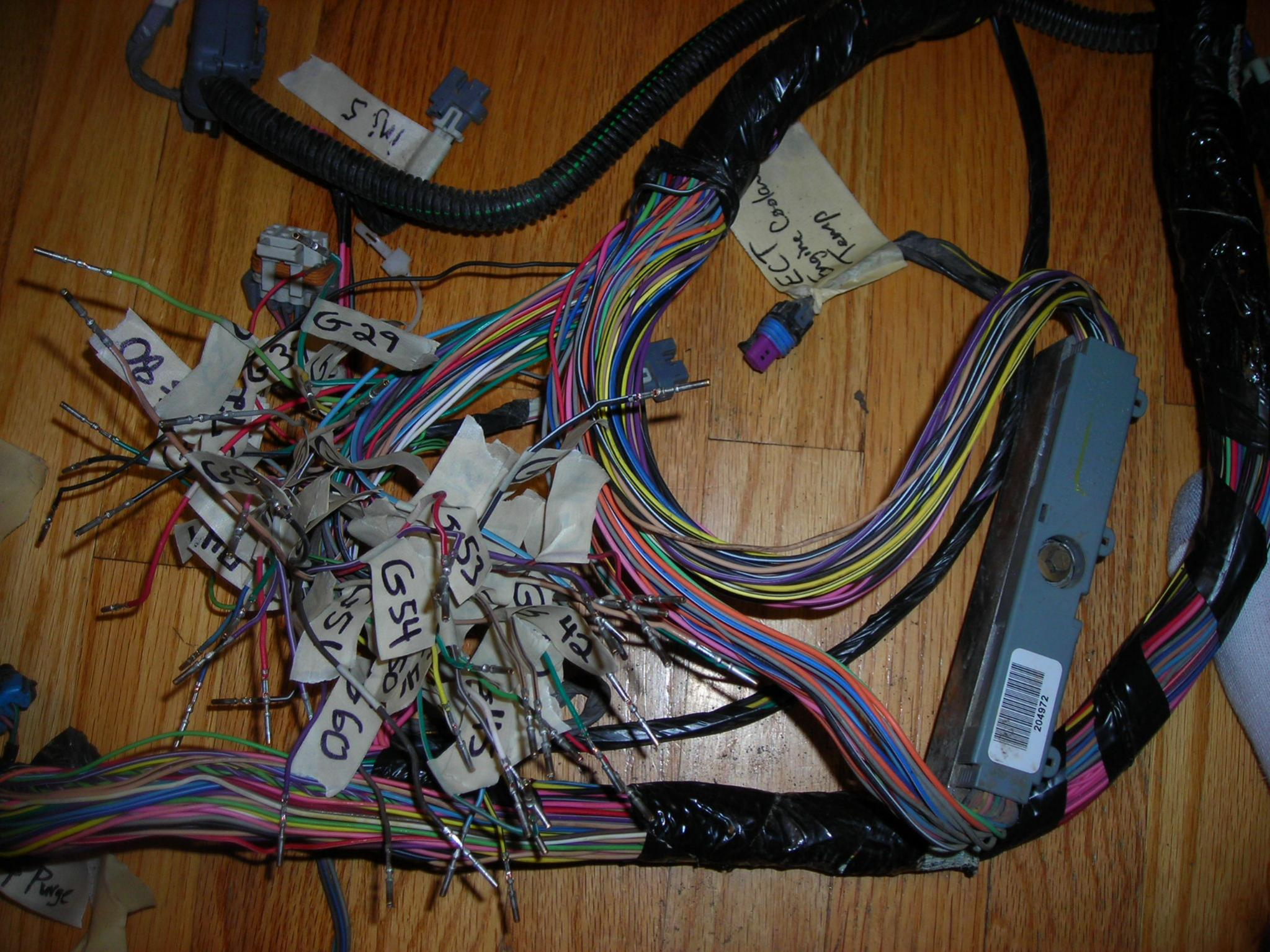 Ls3 Wiring Harness And Computer Ls3 Ecm Wiring Diagrams • Techwomen Co
