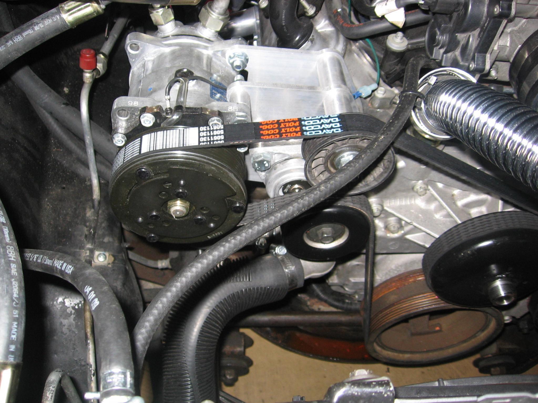Chevy 454 Serpentine Belt Engine Diagram