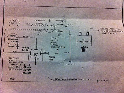 vintage air wiring schematic