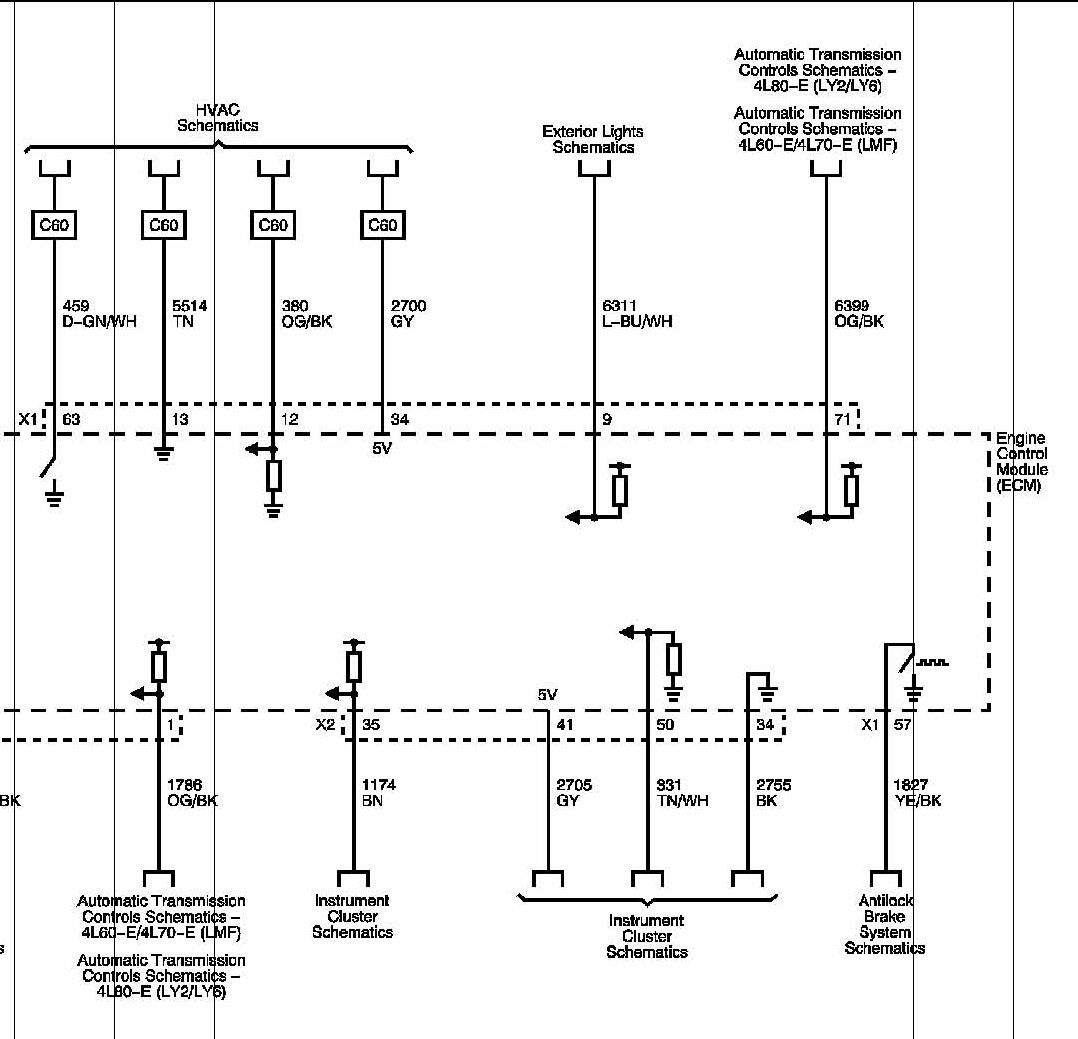 brake light relay wiring diagram that includes major muscles e38 ecm switch ls1tech camaro and