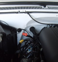 ls conversion under hood pics how where you ran the harness 82 truck  [ 2272 x 1704 Pixel ]