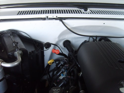 small resolution of  ls conversion under hood pics how where you ran the harness 82 truck