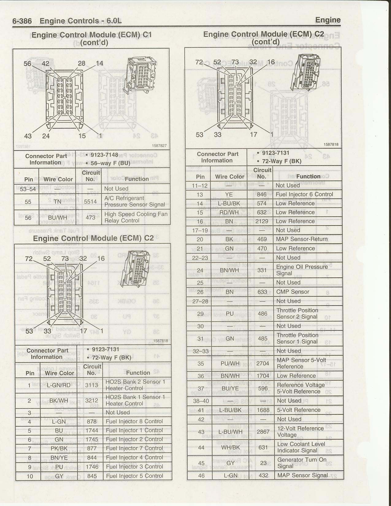 Chevy Tahoe Fuse Diagram 06 Gto Ls2 Stand Alone Harness Not Matching Gm Schematics