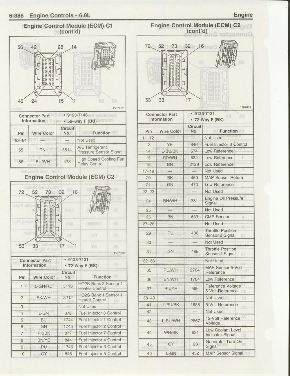 medium resolution of 06 gto ls2 stand alone harness not matching gm schematics ls1tech and the matching pinout diagram