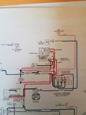 1978 trans am carb ls2 alternator wiring question