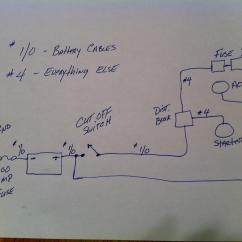 Battery Relocation Wiring Diagram Electron Dot For S Ls Swap Relocating To Trunk Questions