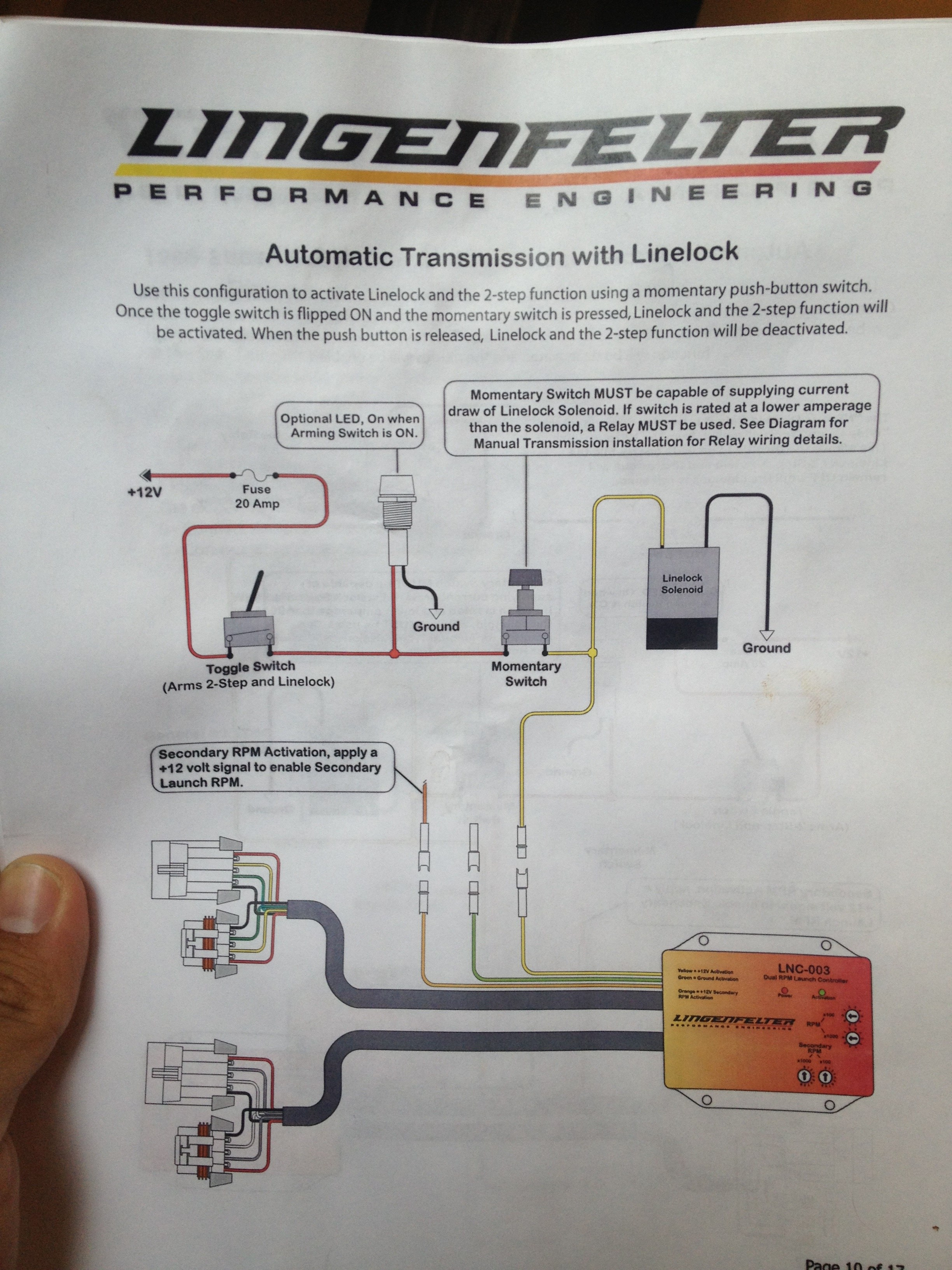 transbrake wiring diagram pop up camper lpe 2 step for 4l60e with line lock and no trans