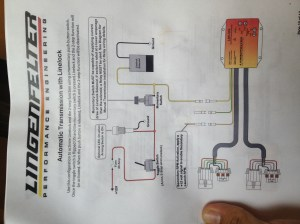 LPE 2 Step Wiring for 4L60e with line lock & no trans