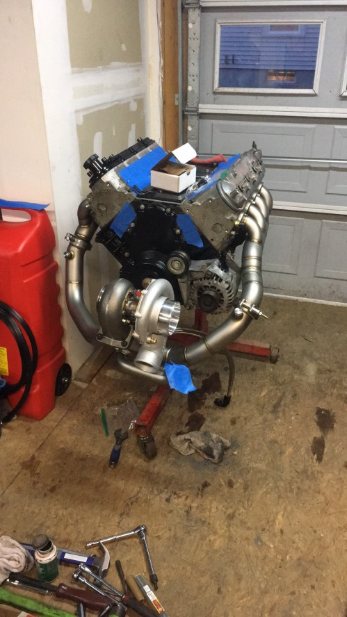 small resolution of on3 or huron a c single turbo kits for 98 02 f body