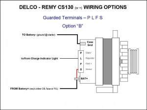 Wiring the CS130 style alternator?  LS1TECH  Camaro