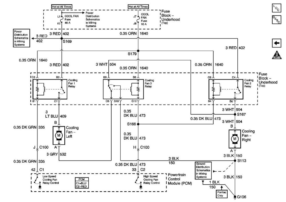 medium resolution of rad fans not coming on for 2001 trans am ls1tech camaro and 1997 honda civic cooling fan diagram cooling fan relay wiring diagram for ls3