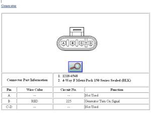 Alternator Wiring Help!  LS1TECH  Camaro and Firebird