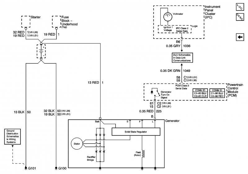 Starter Circuit Wireing Diagram
