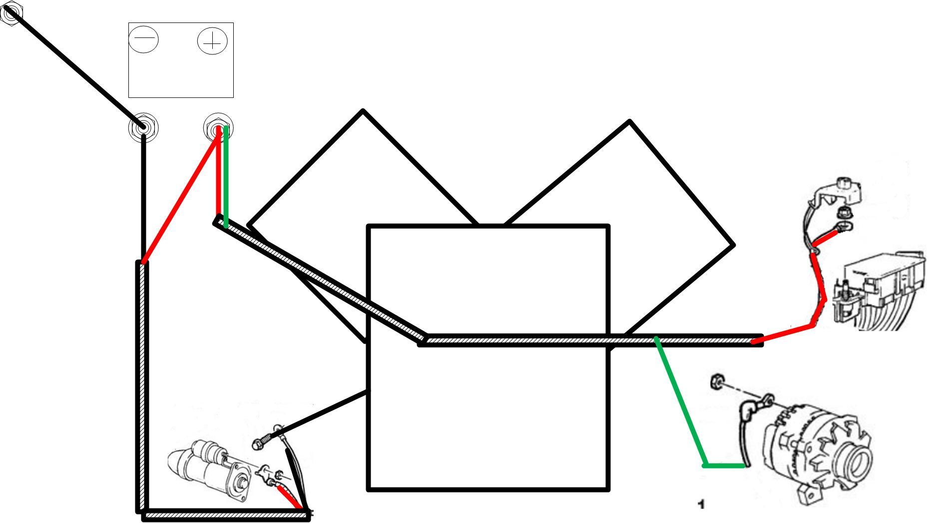 ls1 battery wiring diagram