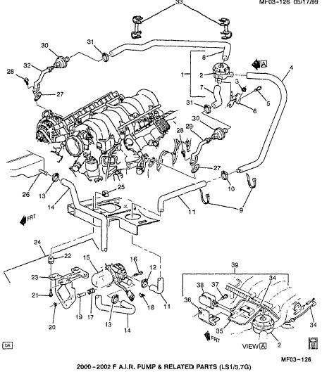 Ls1 Chevrolet Engine Diagram