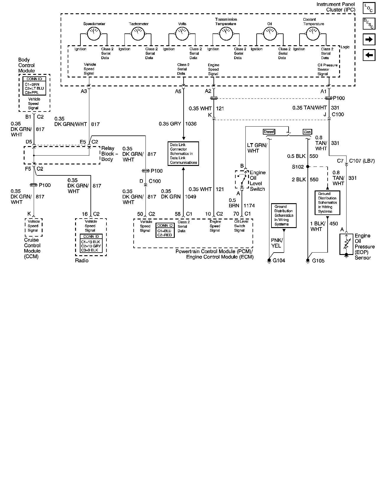 Gm Oil Pressure Sender Wiring Diagram