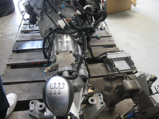 Gto Ls1 V8 With T56 Transmission