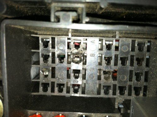 small resolution of 1996 impala ss fuse box fan relay burnt box jpg